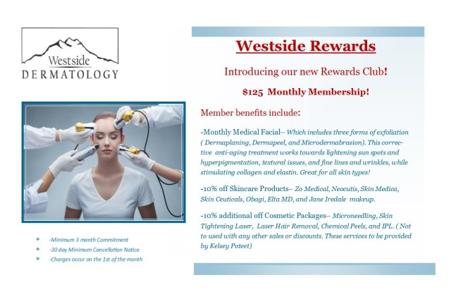 Rewards Club Flyer