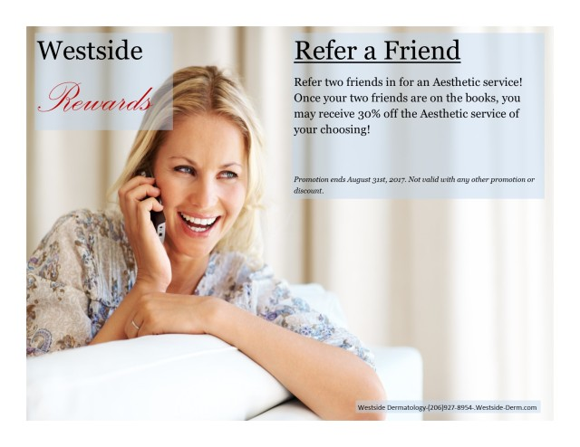 August Referral Special